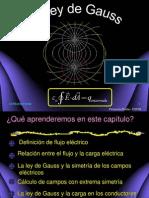 Diapositivas de Ley de Gauss