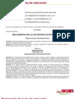 REGLAMENTO DE LEY DE EDUCACION NACIONAL DE GUATMALA.pdf