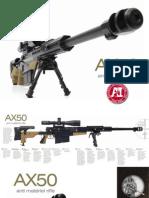 Accuracy International AX50 Brochure