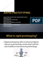 Rapid Prototyping Slideshow of Workshop Technology 2