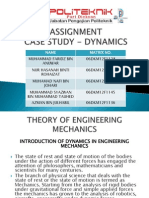 Assignment Engineering Mechanics Case Study