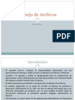 pManejo de Archivos en Java