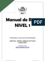(Reiki Level 1 Manual _(Guruji_) - Gerry _(Version en Espa+¦ol_)) (1)