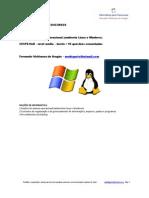 Informática de Concursos - Cespe 2013 - nível médio - sistemas operacionais - teoria + 93 questões comentadas www.informaticadeconcursos.com.br
