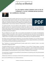La Obediencia a La Ley Es Libertad - Liahona Mayo de 2013