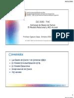 Iic2100 Bases de Datos Relacionales