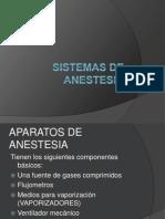 Sistemas de Anestesia
