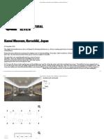 Kamoi Museum, Kurashiki, Japan _ Buildings _ Architectural Review