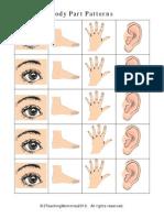 Body Pattern Cards