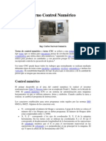 Procesos de Manufactura I - Clases 1- Torno-Control Numérico