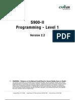 S900II Programming Level I V21