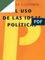 Barbara Goodwin - El uso de las ideas políticas