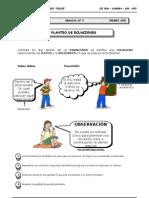 III BIM - 1er. Año - ALG - Guía 5 - Planteo de Ecuaciones