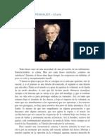 Arthur Schopenauer  - El Arte .docx