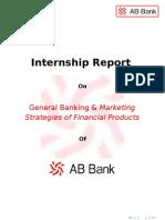 Internship Report AB Bank
