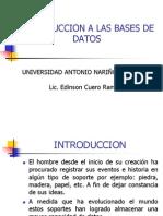 INTRODUCCION A LAS BASES DE DATOS UAN PALMIRA.ppt