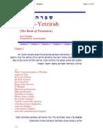 Aryeh Kaplan - Sefer Ha-Yetzirah
