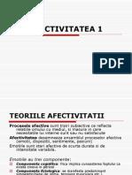 AFECTIVITATEA 1