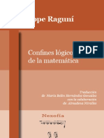 Confines Logicos de La Matematica