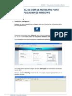 MODIPOO Tema 4 Manual_Uso_NetBeans 6.9.1_Aplicaciones Windows