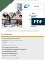 SAP GRC300 GRC 10.0 Presentation Sample