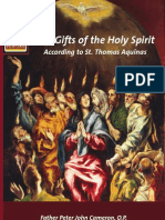 The Gifts OftheHoly Spirit According to St. Thomas Aquinas