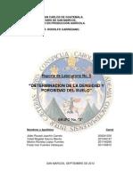 Densidad y Permeabilidad Del Suelo Informe Final