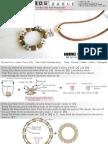 Miyiki Tila Beads Wreath Top Pendant