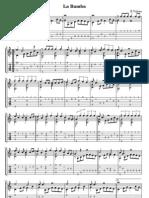 La Bamba - Guitar Solo (Score and Tab)