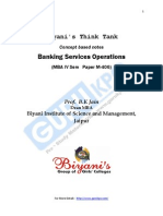 Banking Services Operations (Final)