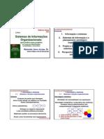sistema de informaçoes organizacionais