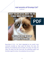 The Ancestry and Origins of Grumpy Cat