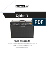MANUAL Spider IV Advanced Guide - Spanish ( Rev a )