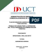 Recurso i Agencia de Viajes Unidad II