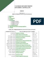 EVANGELIO de JESUCRISTO I Correcciones Formales - Falta