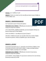 Rapport de Suivi Du Departement Encadrement