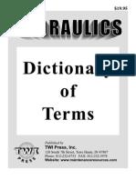 Hydraulic Definitions