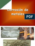 Corrosion de Metales A
