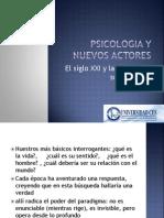 Psicologia y Nuevos Actores