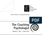 Coaching Psychologist Article