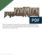Dragonmech - Campaign Setting
