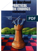 Victor Korchnoi Practical Rook Endings
