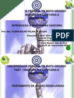 ESA - Esgotamento e tratamento de águas residuária