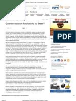 ACE-Guarulhos - Quanto custa um funcionário no Brasil_