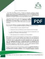 Comunicado FEUTFSM 01.06.13
