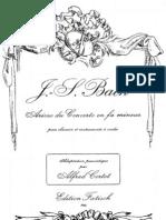 Bach Arioso for Piano Solo (bwv 156)