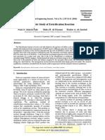 Kinetic Study of Esterification Reaction
