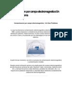 Contaminacion Por Campo Electromagnetico