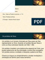 NF 170812 - Profetas de Deus