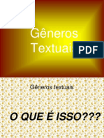 Generos Textuais -Gestar II
